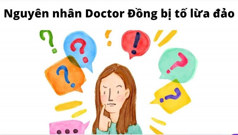 thông tin Doctor Đồng lừa đảo