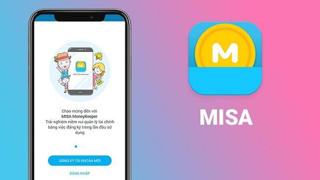 App quản lý chi tiêu Misa