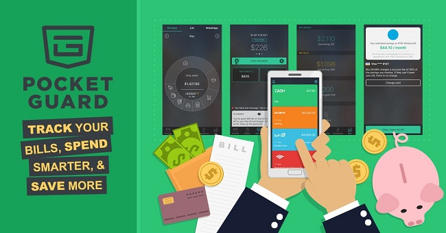 App quản lý chi tiêu PocketGuard
