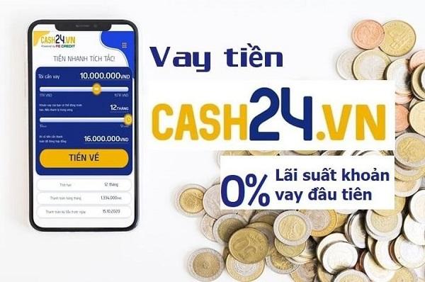 Vay ngắn hạn tại cash24