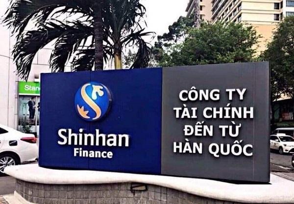 Vay tín chấp tại Shinhan Finance