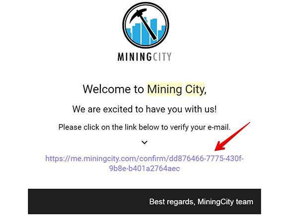 đăng ký mining city