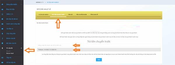 đăng ký mua gói đào bitcoin tại mining city