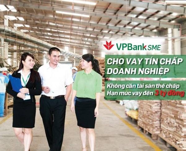vay tín chấp tai VPBank