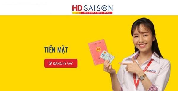 vat tiền mặt tại HD SAISON
