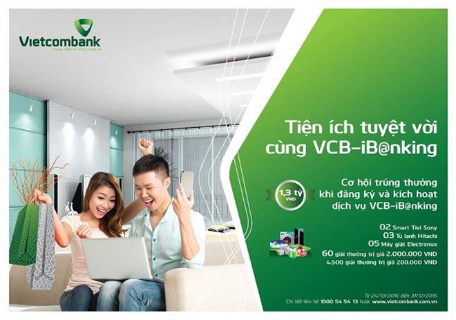 câu hỏi thường gặp về Internet Banking VCB