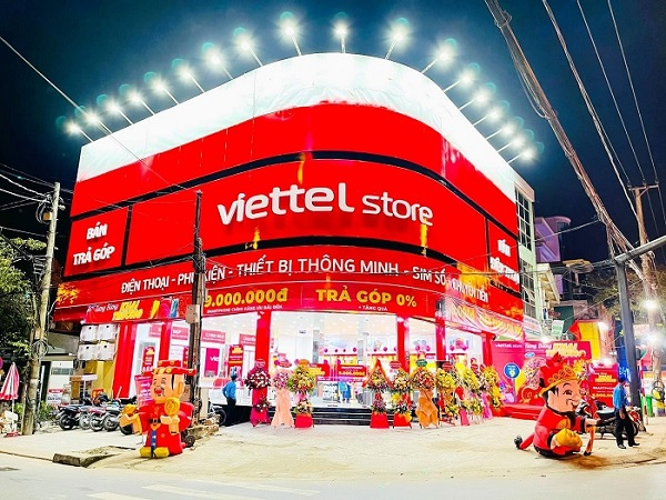 mua điện thoại trả góp Viettel Store