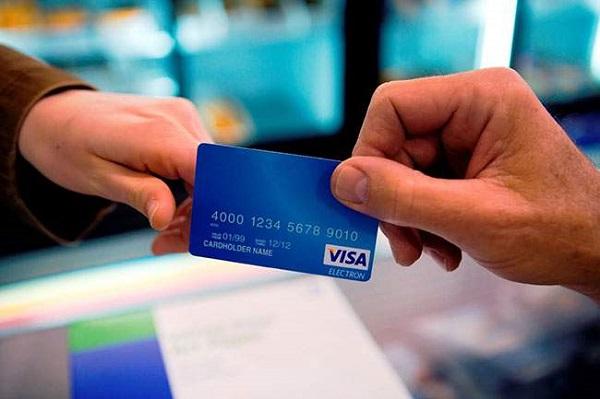 Cách sử dụng thẻ visa