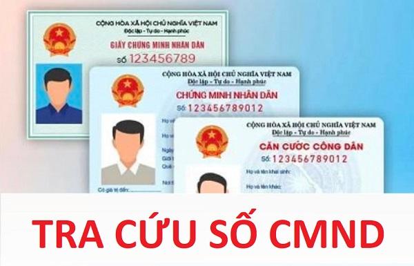 Tra cứu số CMND