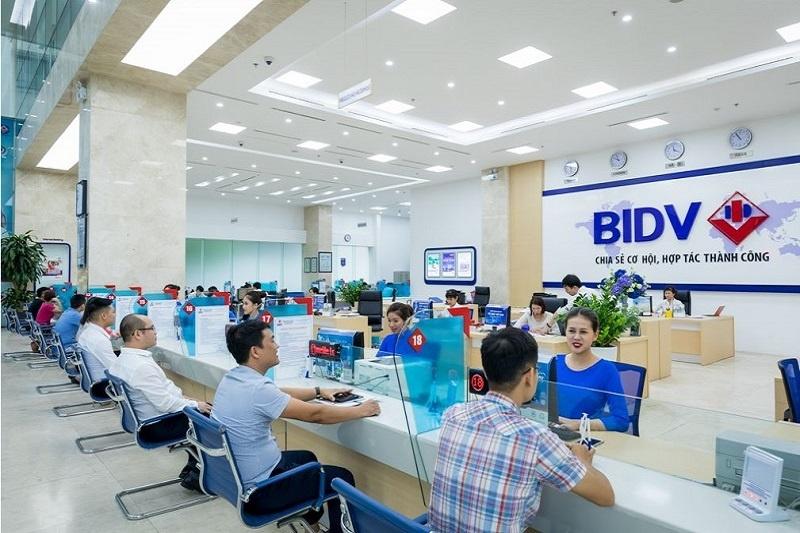 Thời gian làm việc của các chi nhánh BIDV ở miền Bắc