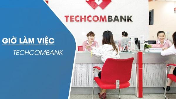 giờ làm việc techcombank