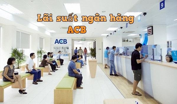 lãi suất ngân hàng acb