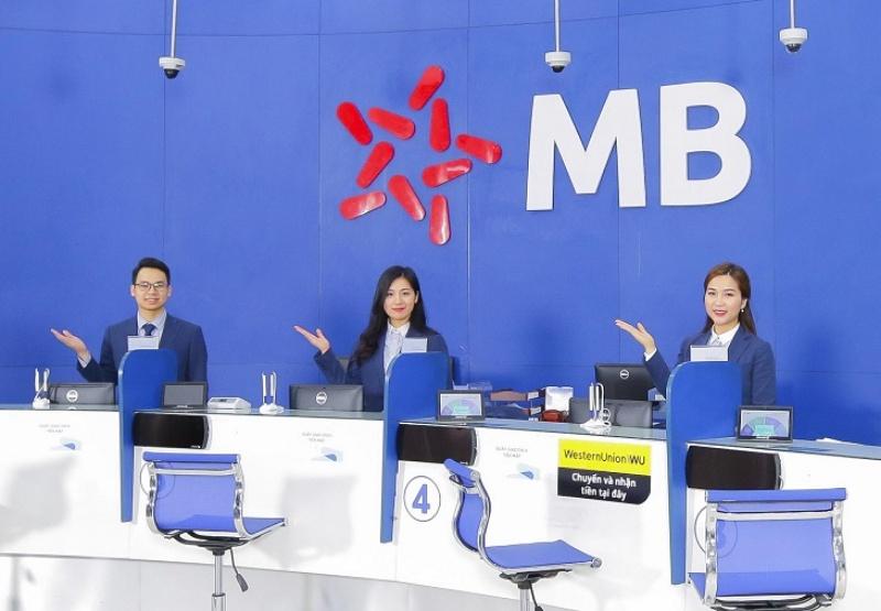Ngân hàng quân đội có tên gọi đầy đủ là Ngân hàng Thương mại Cổ phần Quân đội và được viết tắt là MBbank