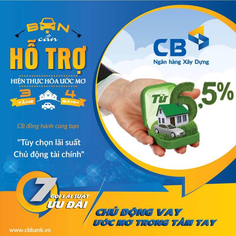 Ngân hàng CBBank cung cấp đa dạng các dịch vụ sản phẩm
