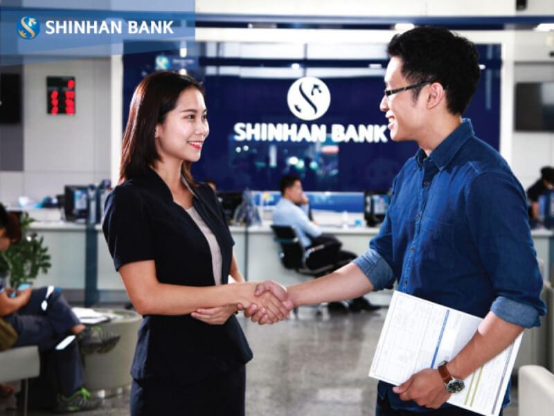 Ngân hàng Shinhan cung cấp đa dạng dịch vụ