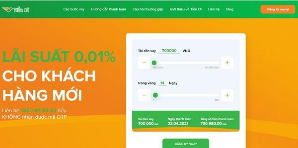 Hướng dẫn vay tiền tại Tiền Ơi ( tienoi.com.vn )